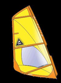 vela per a la practica del windsurf